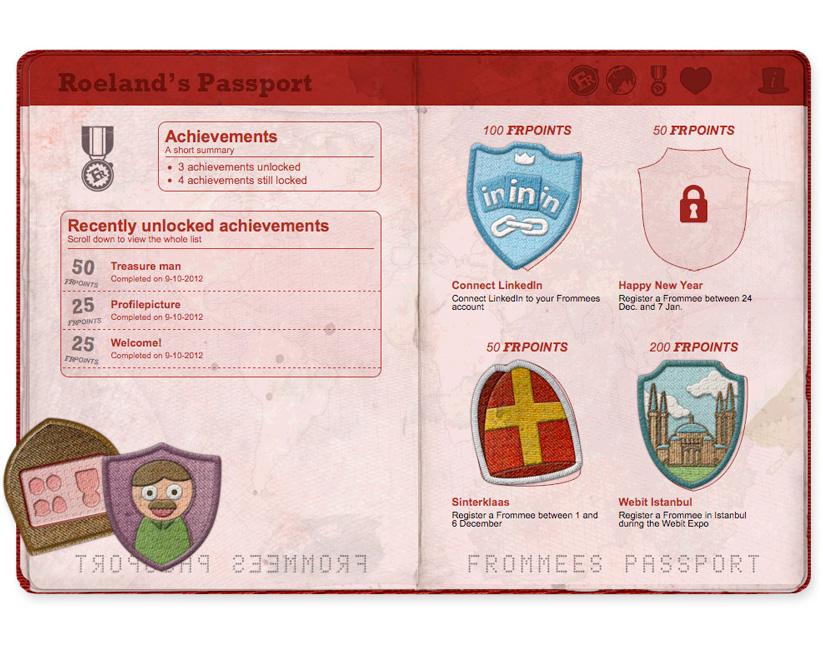 Frommees-Passport-design-Achievements-page-web-design