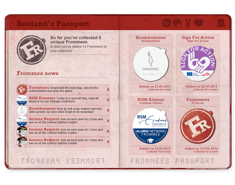 Frommees-Passport-design-Collection-page-web-design