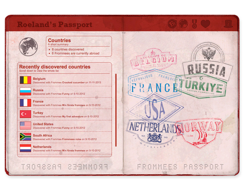 Frommees-Passport-design-Countreis-page-web-design