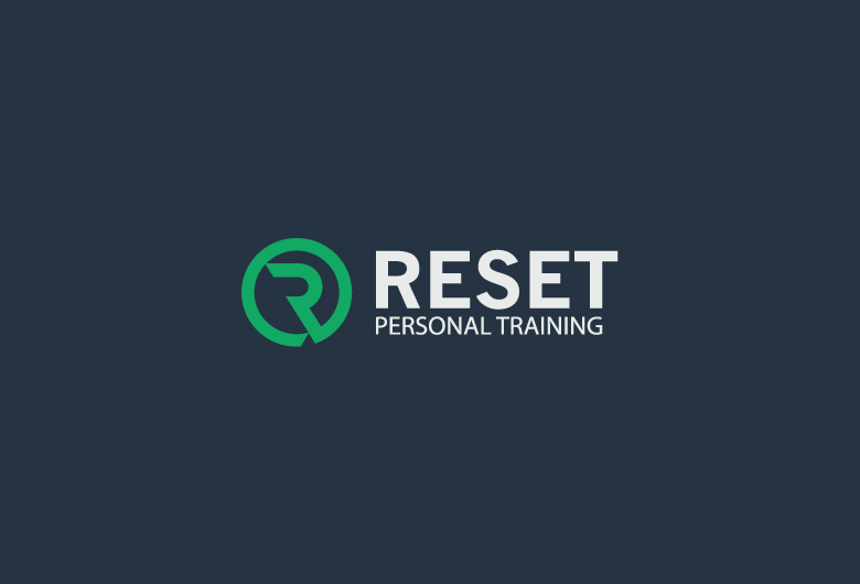 Reset-personal-training-Logo-beeldmerk-design-dark