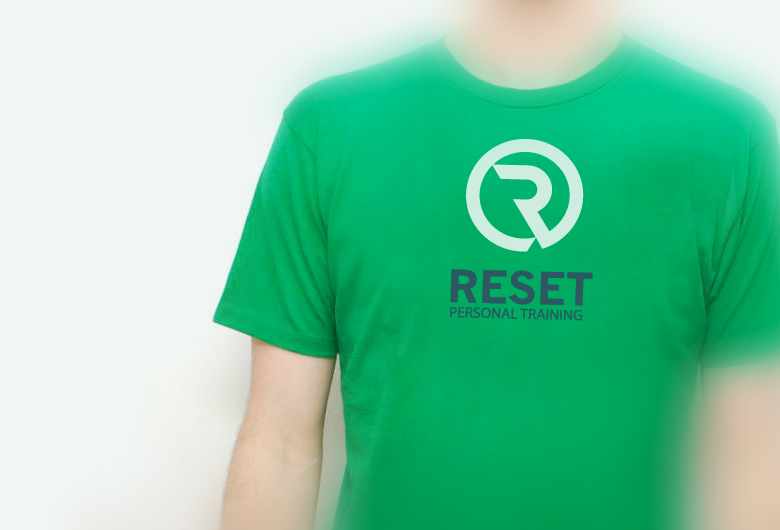 Reset-personal-training-T-shirt-design
