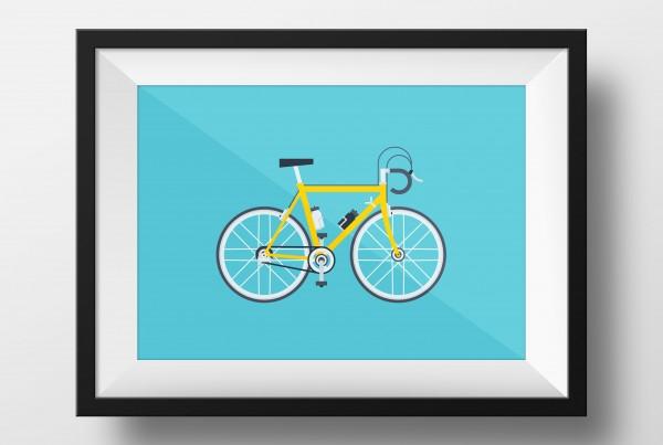 Racebike-poster
