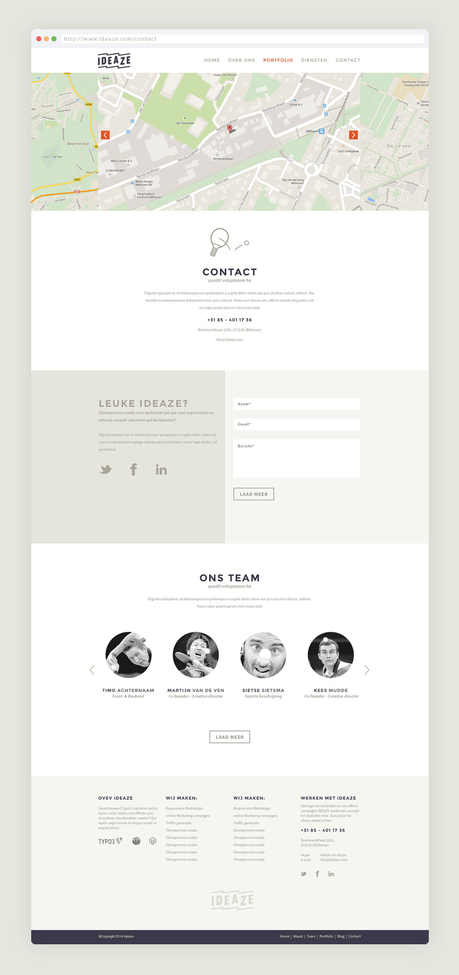 Webdesign-Ideaze-website-ontwerp-contact