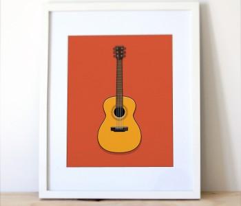 Guitar-illustration-simple