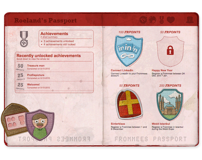 Frommees-Passport-design-Achievements-page-web-design