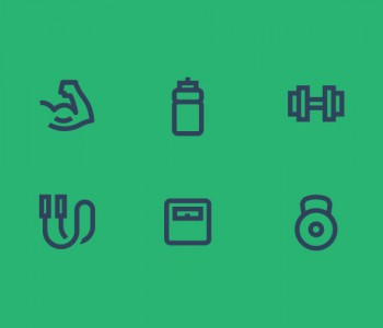 Personal-training-fitness-icons-illustrator-utrecht